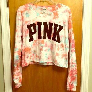 PINK Tie Dye Crop Top!